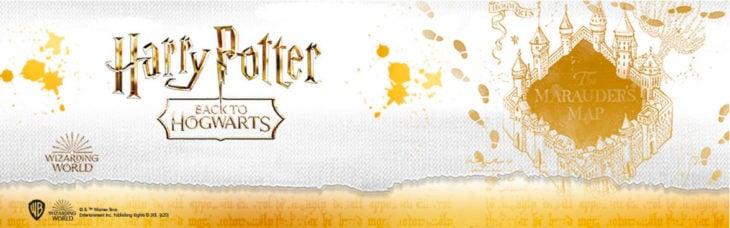 Publicidad de colección de Harry Potter Back to Hogwarts de C&A