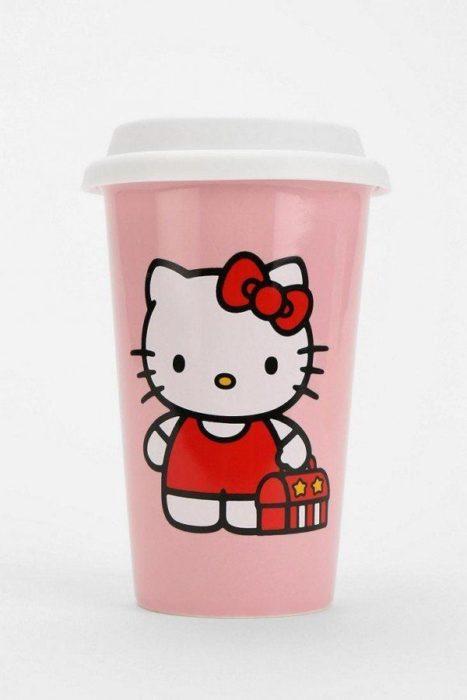 Vaso para café de Hello Kitty