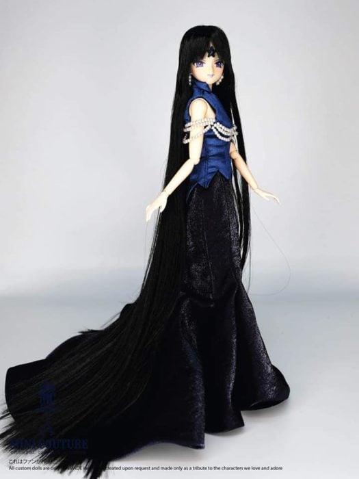 Muñeca de porcelana creada por el artista Mini Couture inspirada en el anime Sailor Moon, Mistress 9