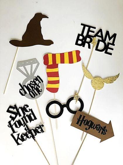 Decoración para boda de Harry Potter