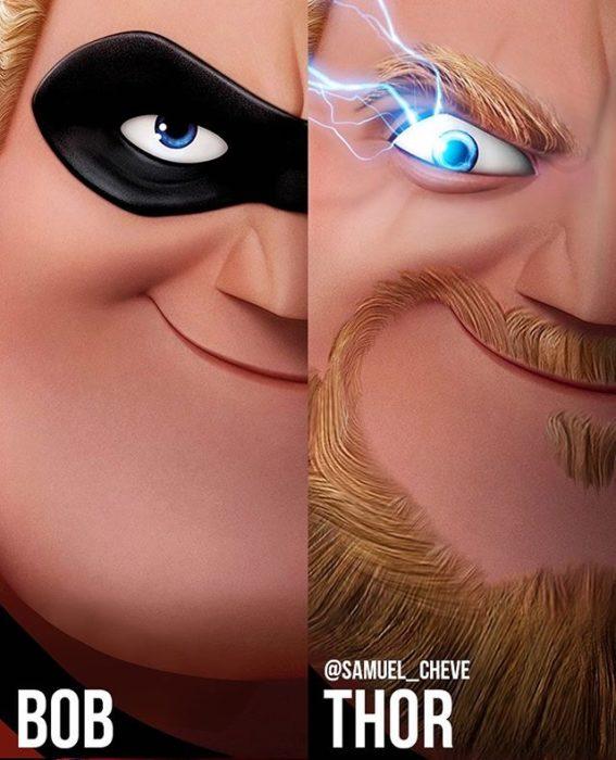 13 Personajes de Disney versión dentro del Universo Cinematográfico de Marvel
