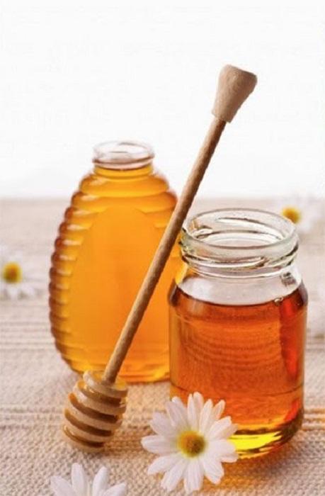 Tarro de miel de abeja