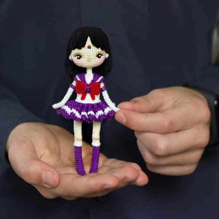 Muñeca tejida sailor marte