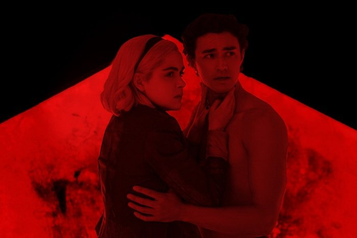 escena de la serie the chilling adventures of sabrina