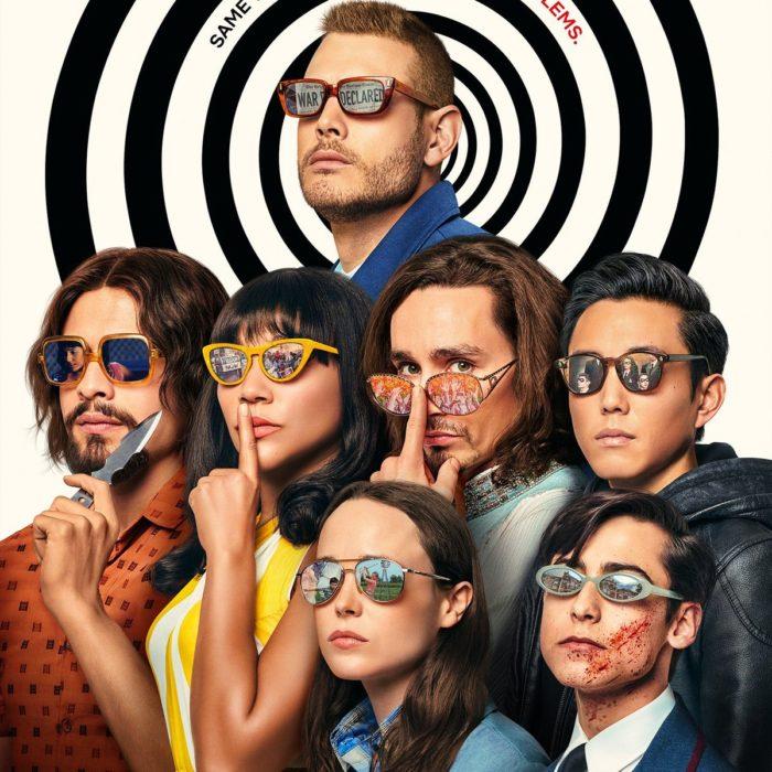 Elenco de la serie The Umbrella Academy 2 en una foto promocional