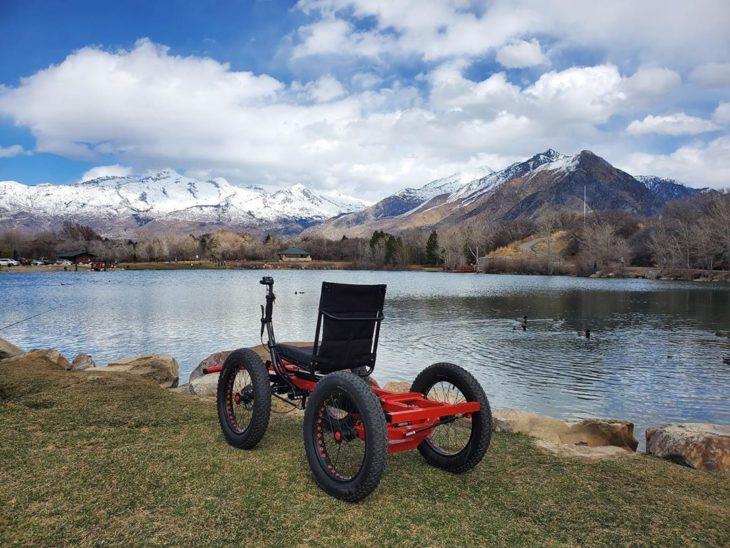 Silla de ruedas motorizada de Not A Wheelchair