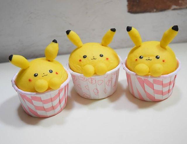 Pastelillos en forma de Pikachu