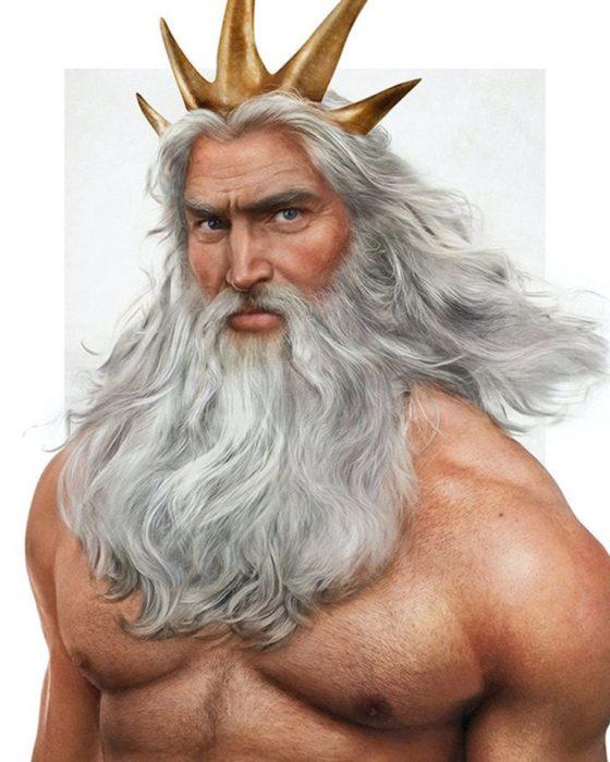 El rey Tritón