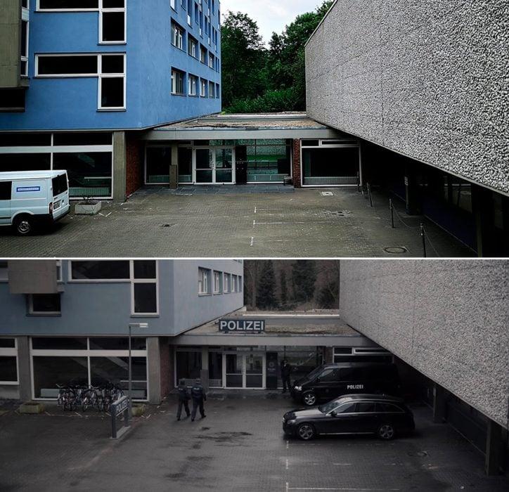 Locación de la estación de policía de la serie Dark