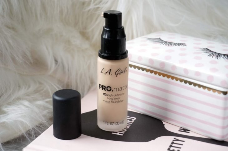 Pro Matte Foundation de L.A. Girl