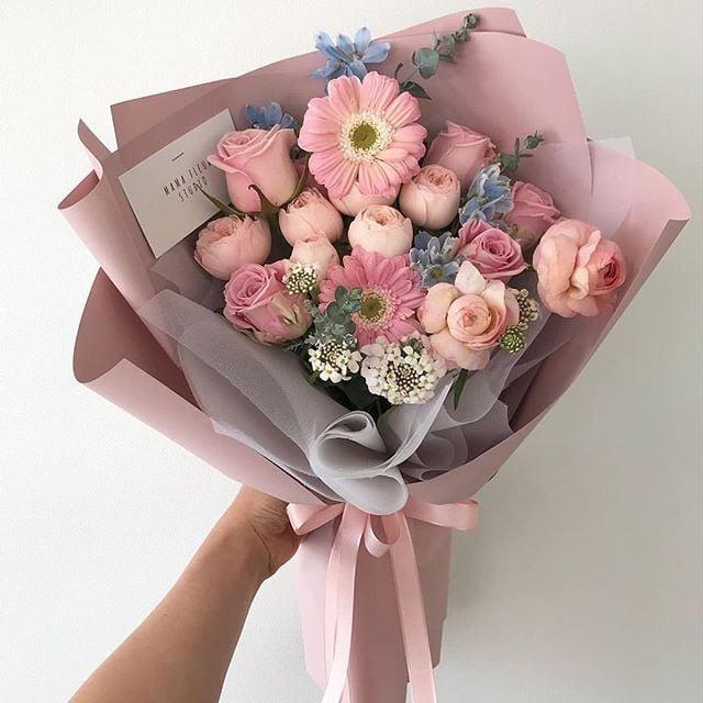 Ramos de flores hermosos