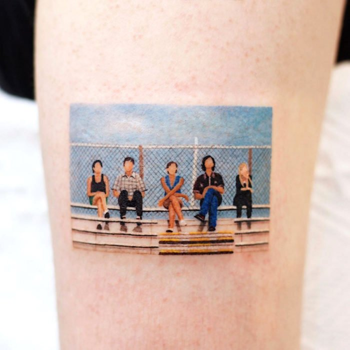 Miniature movie tattoos; The advantages of being invisible