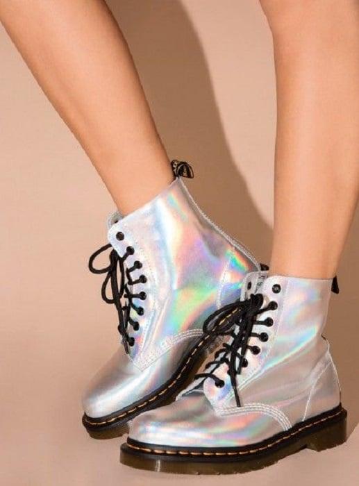 Litmus tone Dr. Martens ankle boots