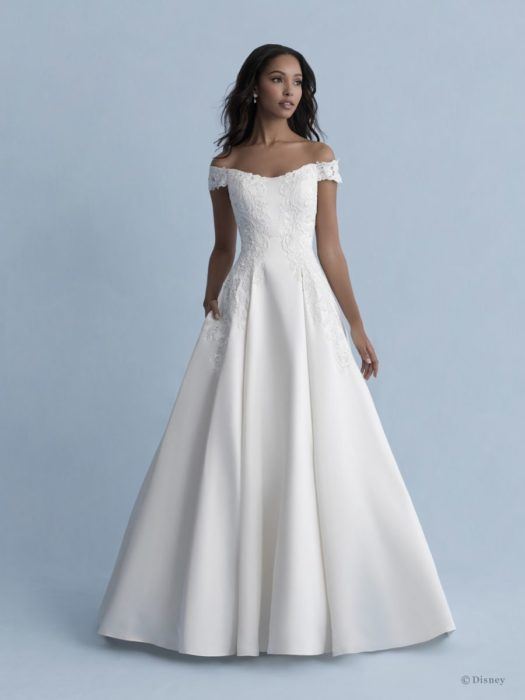 Bella-inspired wedding dress