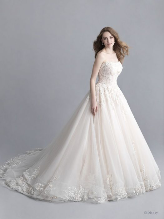 Aurora inspired wedding dress