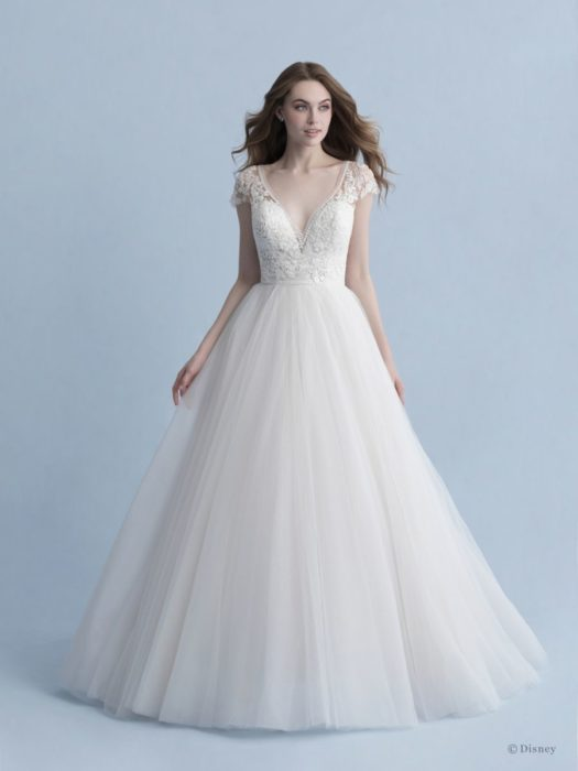 Cinderella-inspired wedding dress