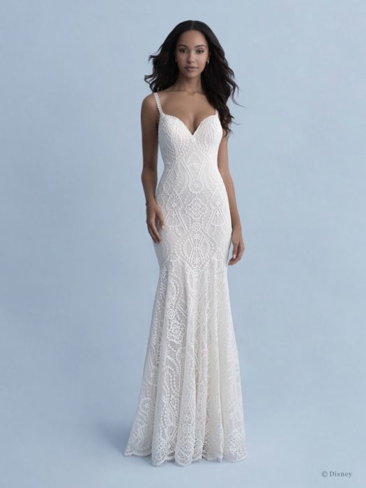 Pocahontas inspired wedding dress