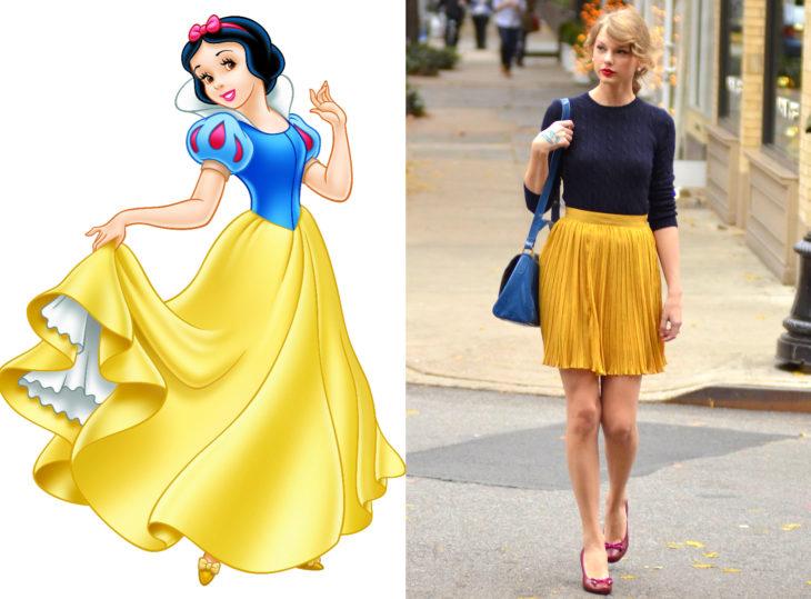 20 Famosas que se inspiraron en las Princesas Disney para elegir sus atuendos