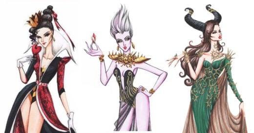 Artista transforma a villanas Disney en glamorosas princesas