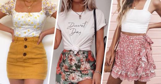 15 Blusas que van perfectas con una mini falda