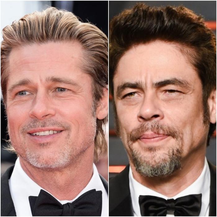Benicio Del Toro y Brad Pitt