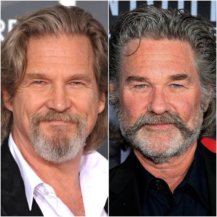 Jeff Bridges y Kurt Russell