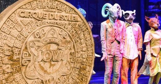 Prepárate para el regreso de la emoción de Cirque du Soleil JOYÀ