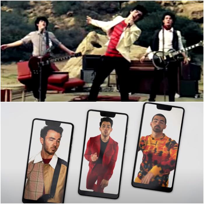 jonas brothers video musical x karol g