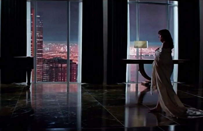 escena de fifty shades of grey