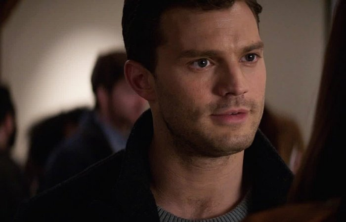 escena de fifty shades darker jamie dornan como christian grey