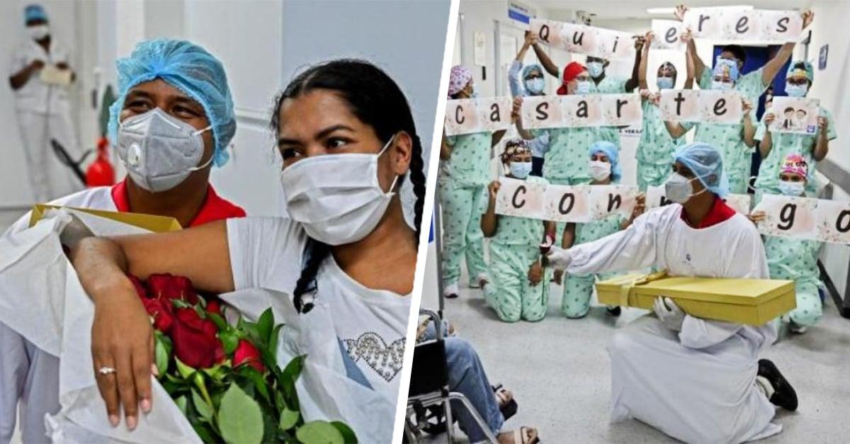 Mujer con Covid- 19 despierta del coma con un hijo y una propuesta de matrimonio