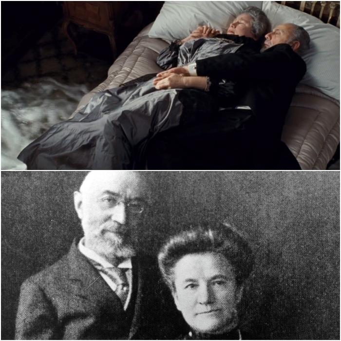 Isidor Straus y su esposa Ida Straus