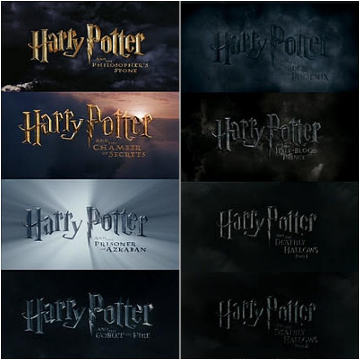 escenas iniciales de las peliculas de harry potter