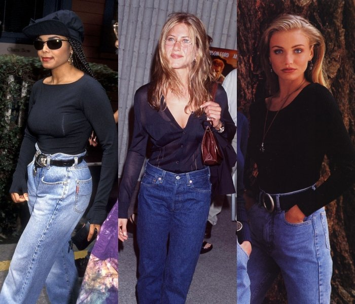 janet jackson, jennifer aniston and cameron diaz