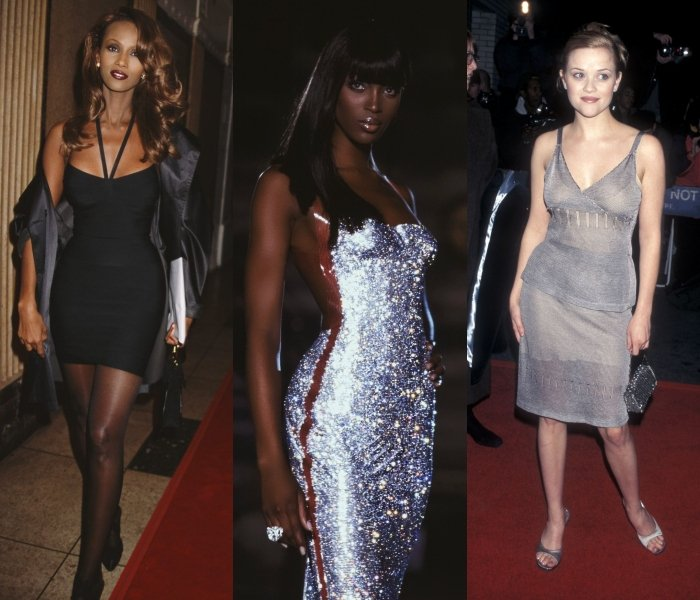 iman, naomi campbell and reese witherspoon