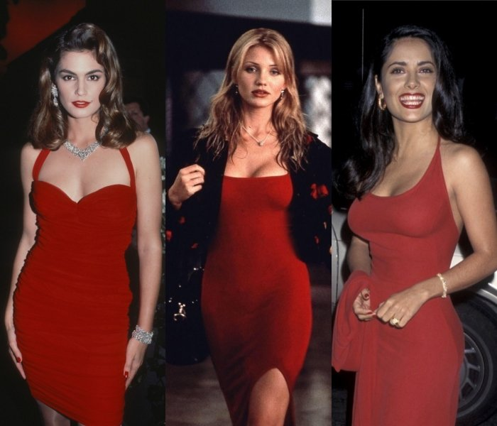 Cindy Crawford, Cameron Diaz and Salma Hayek