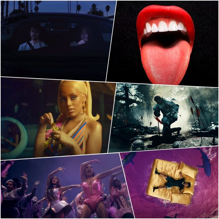 "Billie Eilish – ""Everything I Wanted"" Doja Cat – ""Say So"" Lady Gaga with Ariana Grande – ""Rain On Me"" Megan Thee Stallion – ""Savage"" Post Malone – ""Circles"" Roddy Ricch – ""The Box"""