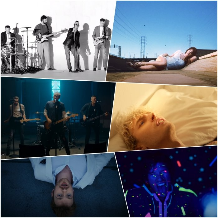 "The 1975 – ""If You're Too Shy (Let Me Know)"" All Time Low – ""Some Kind Of Disaster"" FINNEAS – ""Let's Fall in Love for the Night"" Lana Del Rey – ""Doin' Time"" Machine Gun Kelly – ""Bloody Valentine"" Twenty One Pilots – ""Level of Concern"""