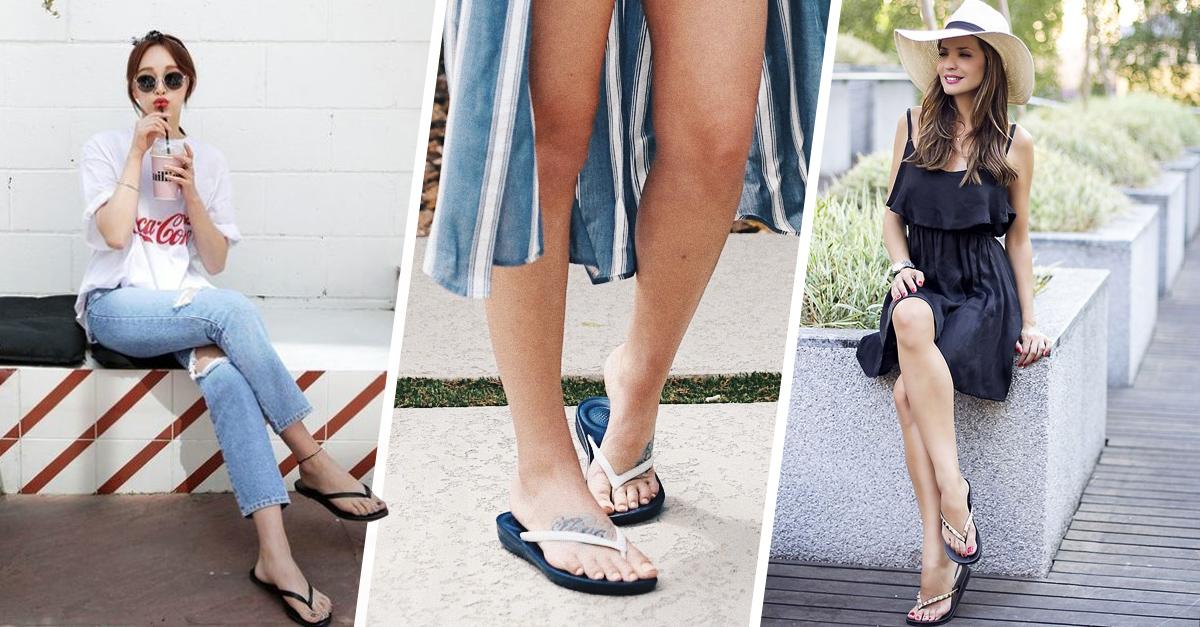 ¡Bye a los tacones! Los flip flops es el calzado que se usará en el verano