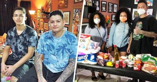 Intercambian tatuajes por comida para ayudar a los más necesitados