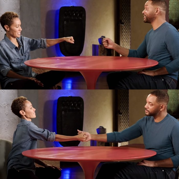 jada pinkett smith y will smith en red table talk