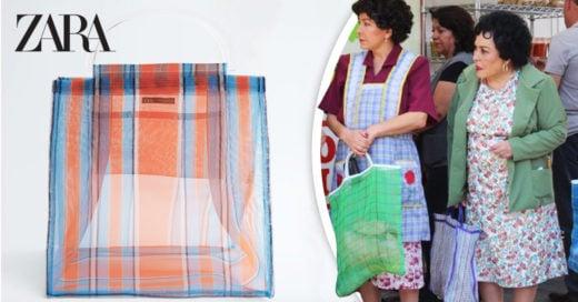 El bolso 'shopper' de Zara provoca burlas y memes en redes sociales
