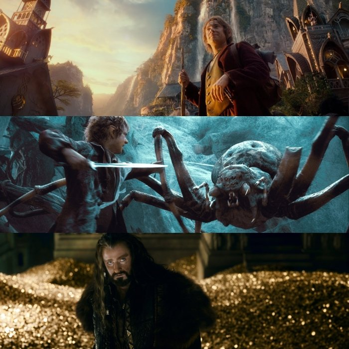 escenas del hobbit