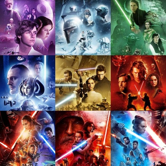 escenas de star wars