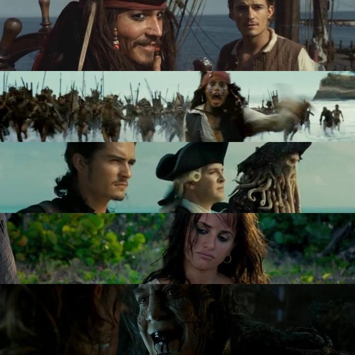 escenas de piratas del caribe