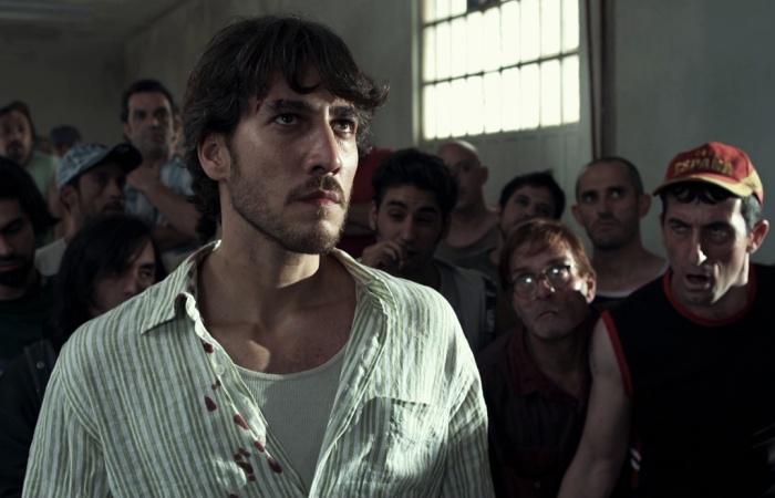 escena de película celda 211