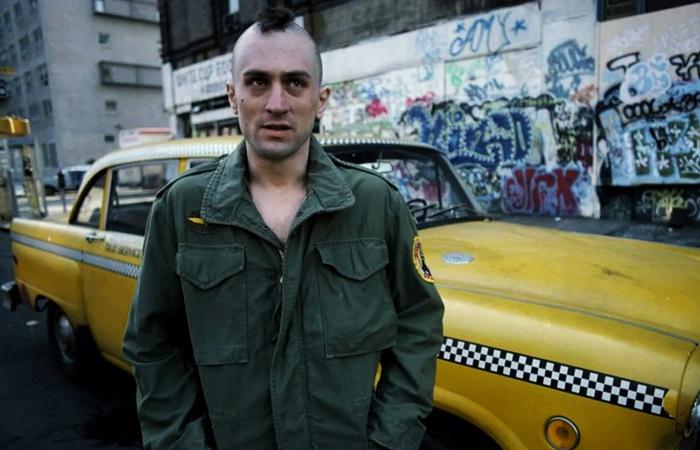 escena de película taxi driver