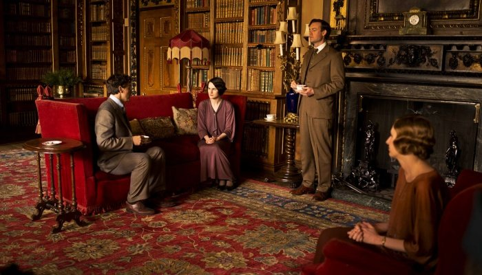 escena de downton abbey