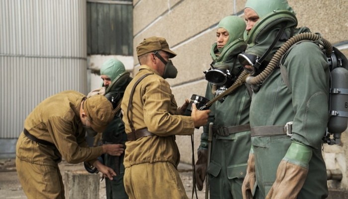 escena de chernobyl
