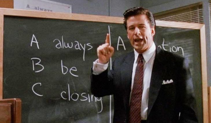 Alec Baldwin en Glengarry Glen Ross